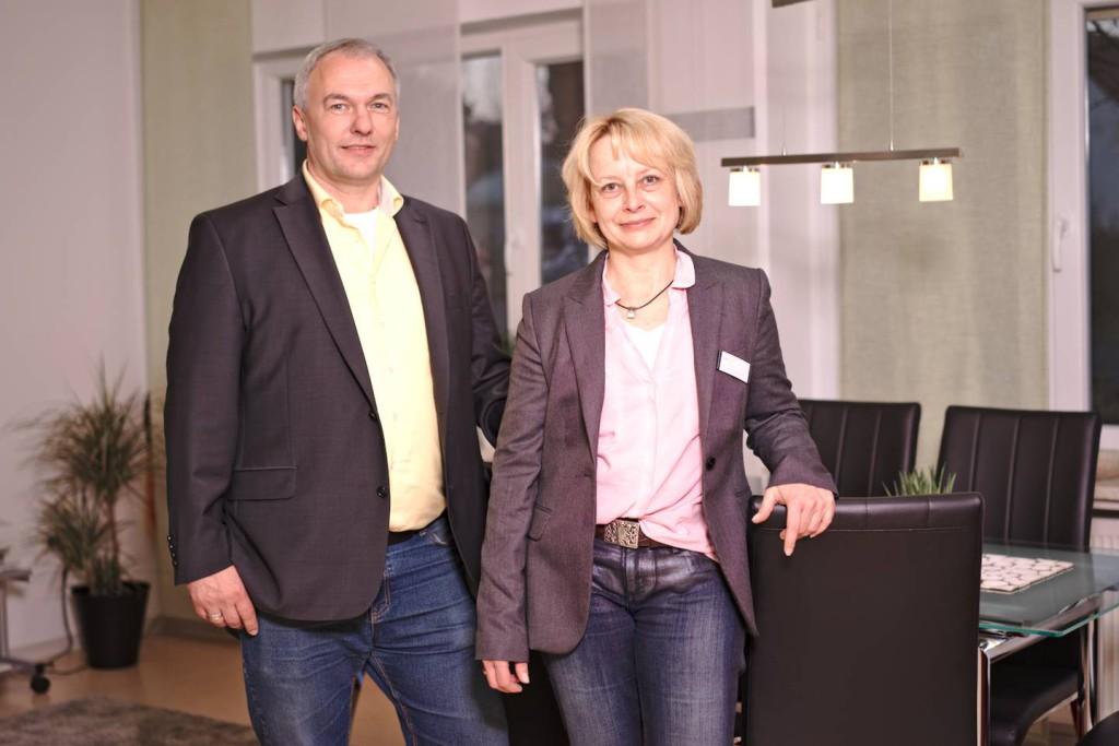 Wolfgang Sell, Geschäftsführer wirtschaftlicher Bereich, und Eva Kuhn-Sell, Geschäftsführerin fachlicher Bereich/Heimleitung